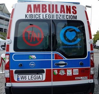 """Kolejna aukcja Legionistów w ramach akcji """"Ambulans dla WSDD"""""""
