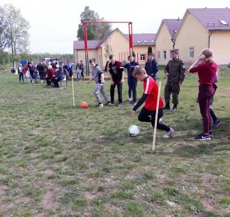 Kibice Legii Warszawa zorganizowali dzień sportu na Wileńszczyźnie