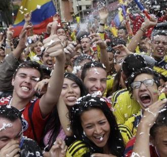 Kokaina ukryta w replikach koszulek reprezentacji Kolumbii