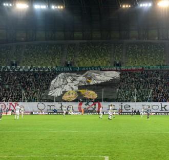 Tak wyglądały trybuny w hicie ostatniej kolejki Ekstraklasy
