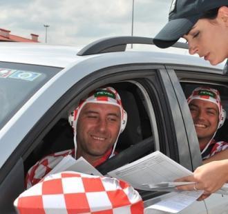 MŚ 2018: Kibice na polsko-rosyjskim przejściu granicznym