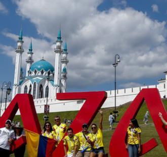 MŚ: Kibice przed meczem Polska - Kolumbia