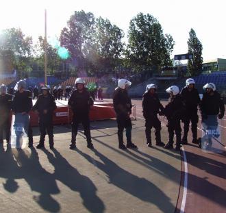 Policja zatrzymała 64 kibiców po meczu Elany Toruń
