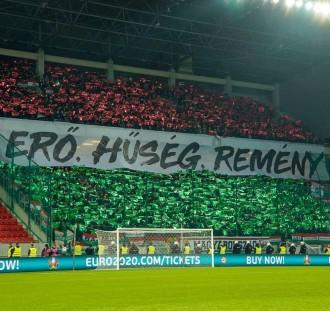 Świetna oprawa węgierskich kibiców na meczu ich reprezentacji!
